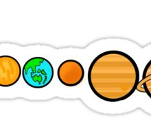 Our Solar System Sticker