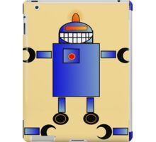 Blue Robot - Anne Winkler iPad Case/Skin
