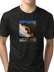 Fiery Lava Tri-blend T-Shirt