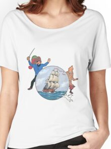 tintin the secret of unicom Women's Relaxed Fit T-Shirt