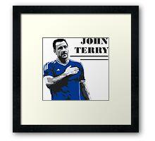 TERRY Framed Print