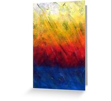 Water in Flames  Greeting Card
