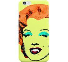 Vampire Marilyn 6c iPhone Case/Skin