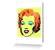 Vampire Marilyn 6c Greeting Card