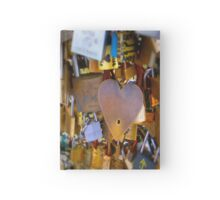 Love Locks Hardcover Journal