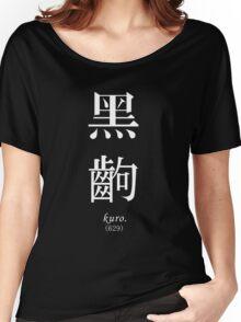 BLACK FRAME - Monogatari Series t-shirt / Phone case / Mug Women's Relaxed Fit T-Shirt