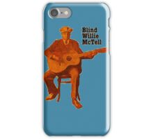 Blind Willie McTell - Blues Guitar Legend iPhone Case/Skin
