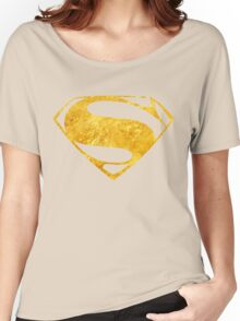 SUPERMAN Women's Relaxed Fit T-Shirt