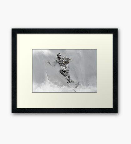 Lebron James Print Framed Print