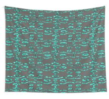 Glass and Sand Aqua Wall Tapestry