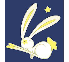 Star Bunny Photographic Print