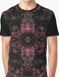Floral Red Graphic T-Shirt