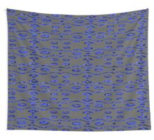 Glass and Sand Blue Wall Tapestry
