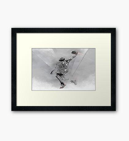 James Harden Sketch Framed Print