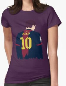 leo messi Womens Fitted T-Shirt