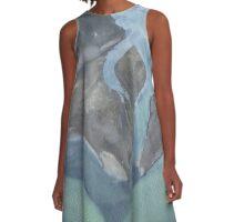 Soft Focus Estuary A-Line Dress