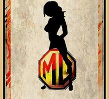 MG Girl by Sharon Poulton