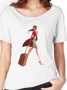 Traveler Girl Women's Relaxed Fit T-Shirt