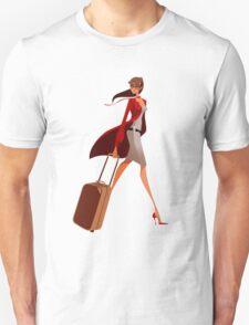 Traveler Girl Unisex T-Shirt