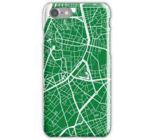 Antwerp Map - Green iPhone Case/Skin