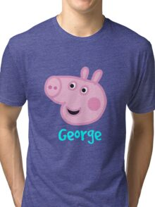 George Pig Tri-blend T-Shirt