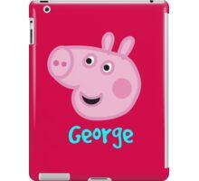 George Pig iPad Case/Skin