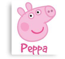 Peppa Pig Canvas Print