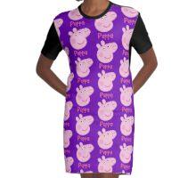 Peppa Pig Graphic T-Shirt Dress