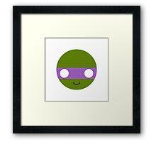 Donatello - Circley! Framed Print