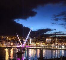 Derry - Peace Bridge by Patryk Sadowski