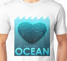 I Am Happiest In The Ocean Unisex T-Shirt