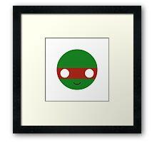 Raphael - Circley! Framed Print