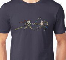 Genji Vs Hanzo 16 bit Unisex T-Shirt