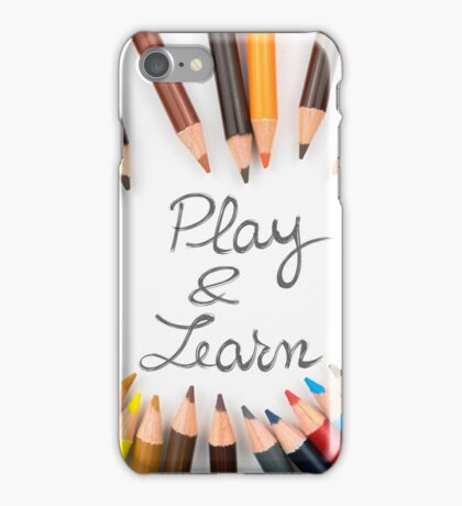 Play and Learn iPhone Case/Skin