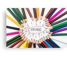 Change Canvas Print