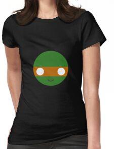Michelangelo - Circley! Womens Fitted T-Shirt
