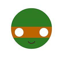 Michelangelo - Circley! by apefruit