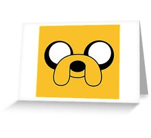 Yellow Dog Greeting Card