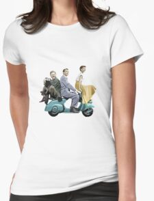 Audrey Hepburn: Roman Holiday Womens Fitted T-Shirt