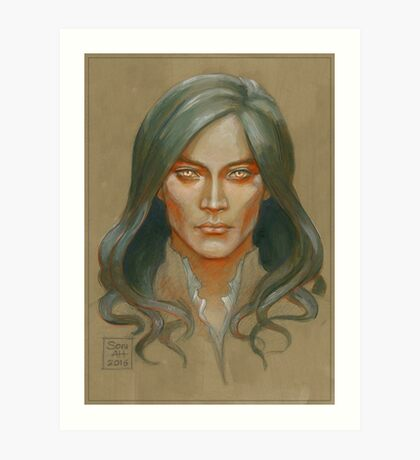 Fëanor colour study Art Print