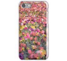 Meshed Up Colourful Summer Tulip Field iPhone Case/Skin