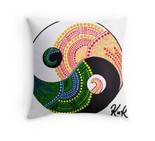 Yin & Yang Throw Pillow