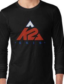 K2 s.k.i.s skis sky Long Sleeve T-Shirt