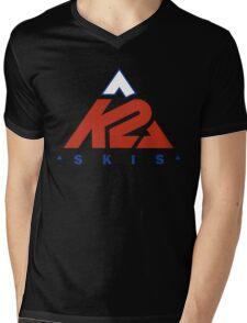 K2 s.k.i.s skis sky Mens V-Neck T-Shirt