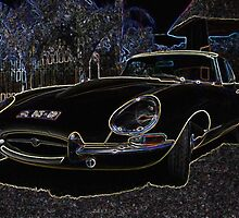 1966 Jag E-type 4.2 Series I by Maree Clarkson