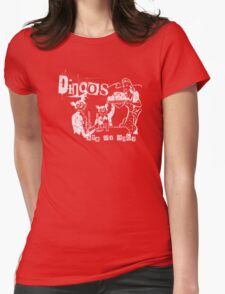 Dingos Ate My Baby Womens Fitted T-Shirt
