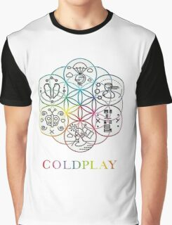 Coldplay art Graphic T-Shirt