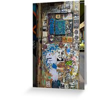 Centre Place Sticker Wall Greeting Card
