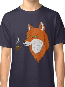 Smoking Fox Classic T-Shirt
