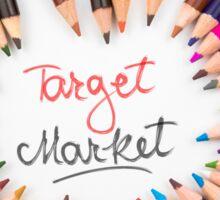 Target Market Sticker